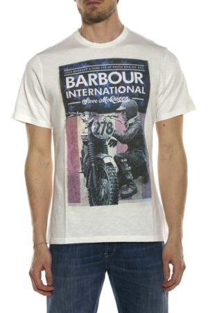 BARBOUR-T-SHIRT CON STAMPA-BATEE0392MTS BIA