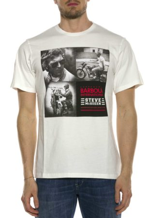 BARBOUR-T-SHIRT CON STAMPA-BATEE0394MTS BIA