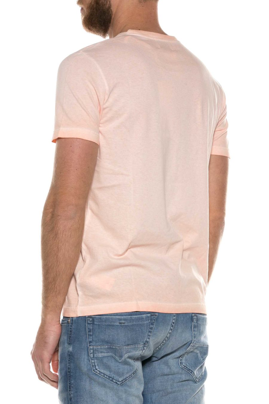 DONDUP-T-SHIRT IN COTONE STAMPATA-DDUS288JF0230C RSA