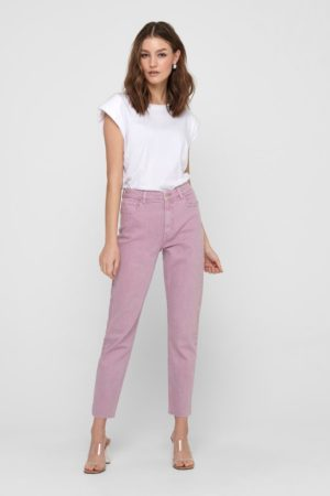 1 ONLY-JEANS STRAIGHT FIT-ON15175323 MAUVE