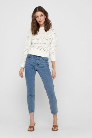 1 ONLY-PULLOVER FEM KNIT CO100-ON15223828 AVO