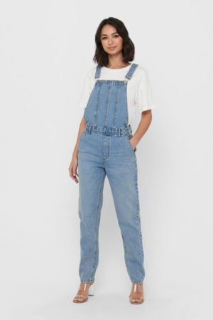 1 ONLY-OVERALLS FEM WOV CO100-ON15223972 BLU