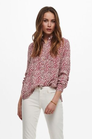 1 ONLY-SHIRT - WITH SLEEVES FEM WOV PL100-ON15231695 GRAPH
