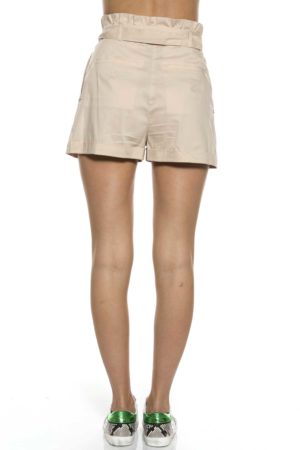PATRIZIA PEPE-SHORTS IN POPELINE-PP2P1256A23 BEI