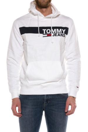 TOMMY HILFIGER-FELPA IN COTONE-THDM0DM06047 BIA